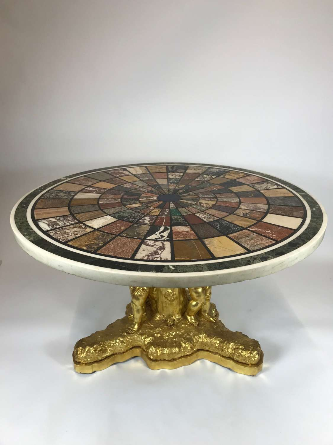 A Fine 19TH Century Continental specimen marble-topped Centre Table