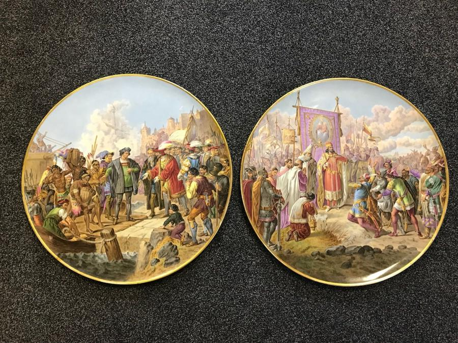 A Pair of 19TH Century Vienna Porcelain Plaques
