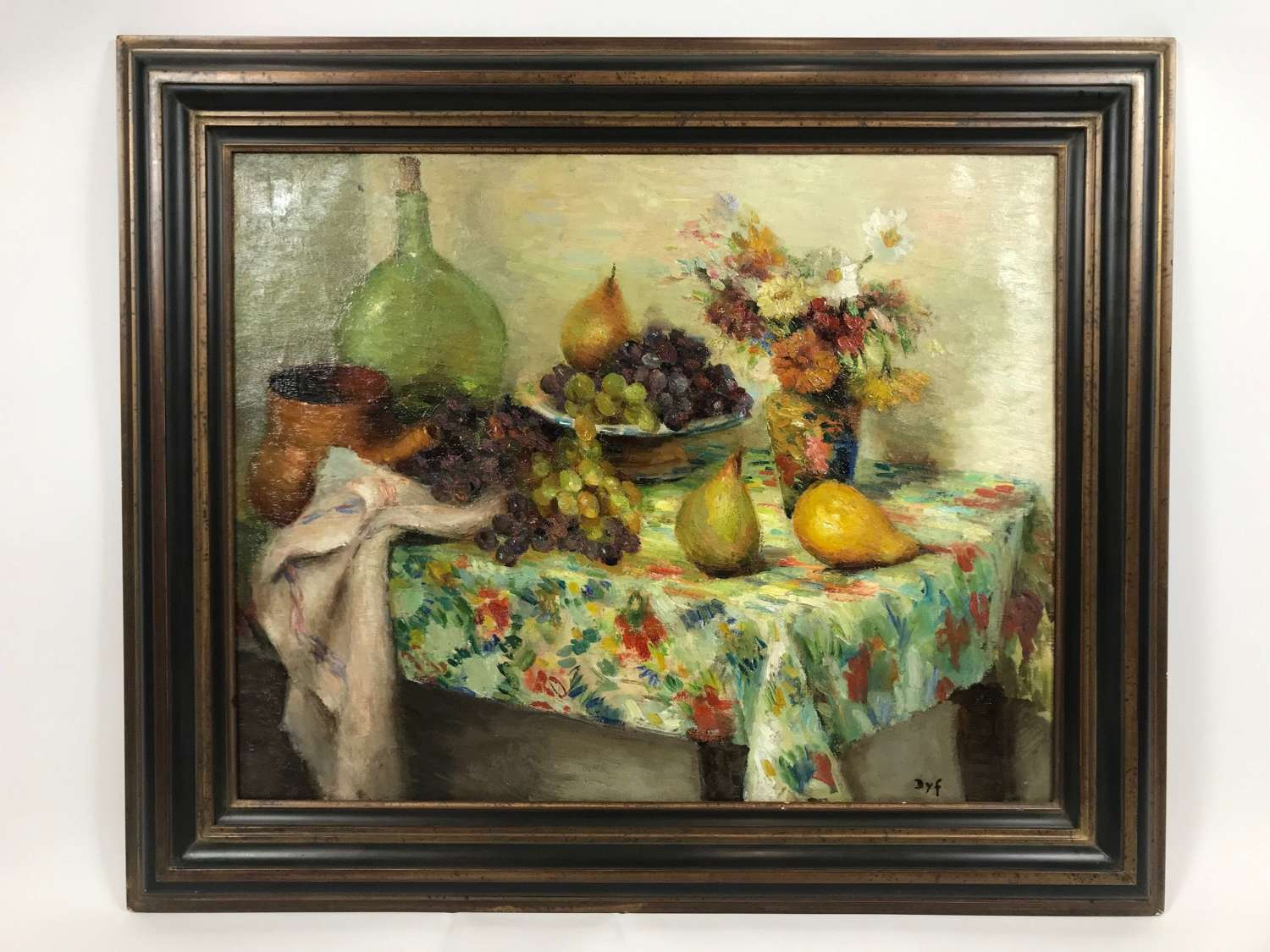 Marcel Dyf French (1899-1985) Oilpainting Nature morte aux tres poires