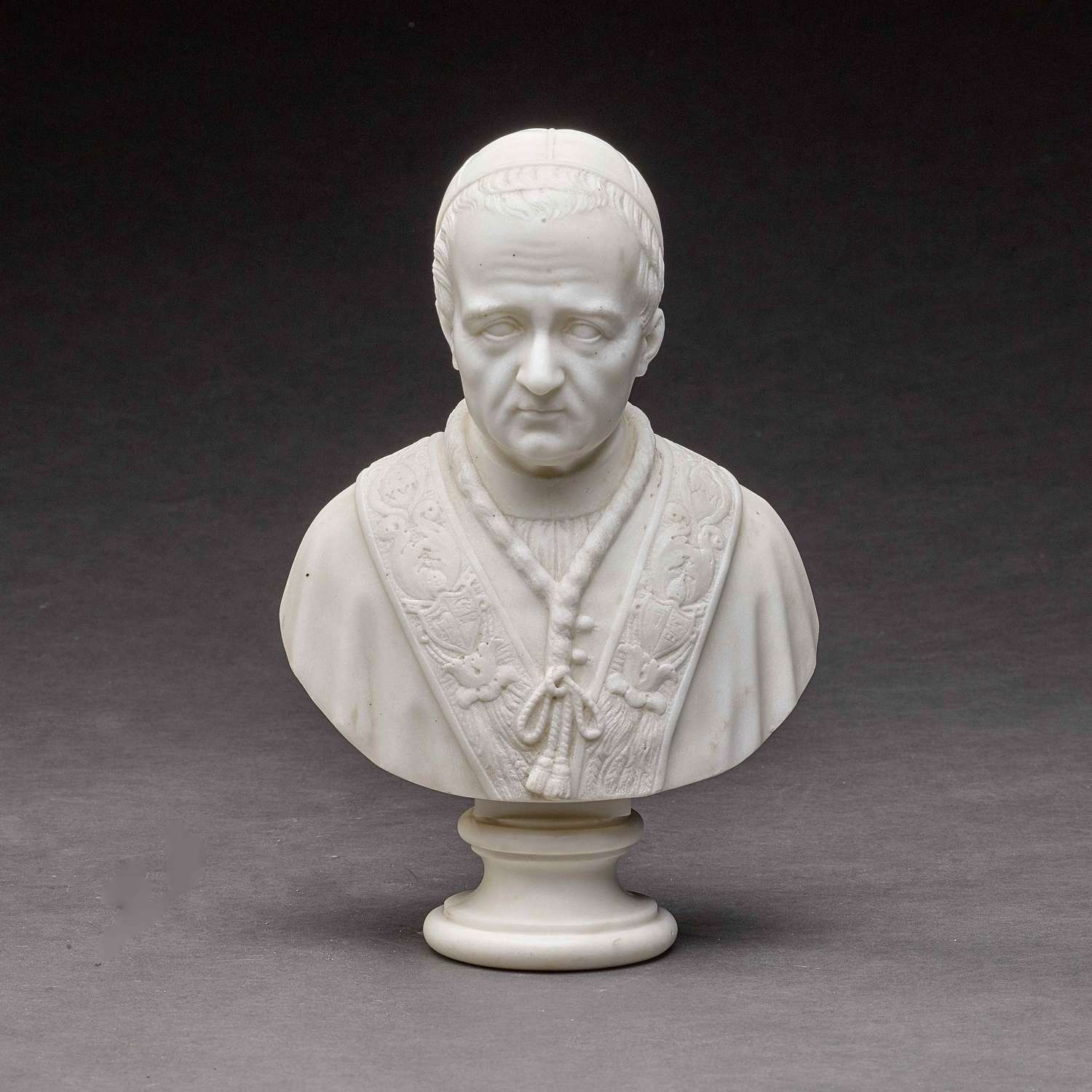 Marble Bust of POPE GREGORY XV1 (1765-1846)