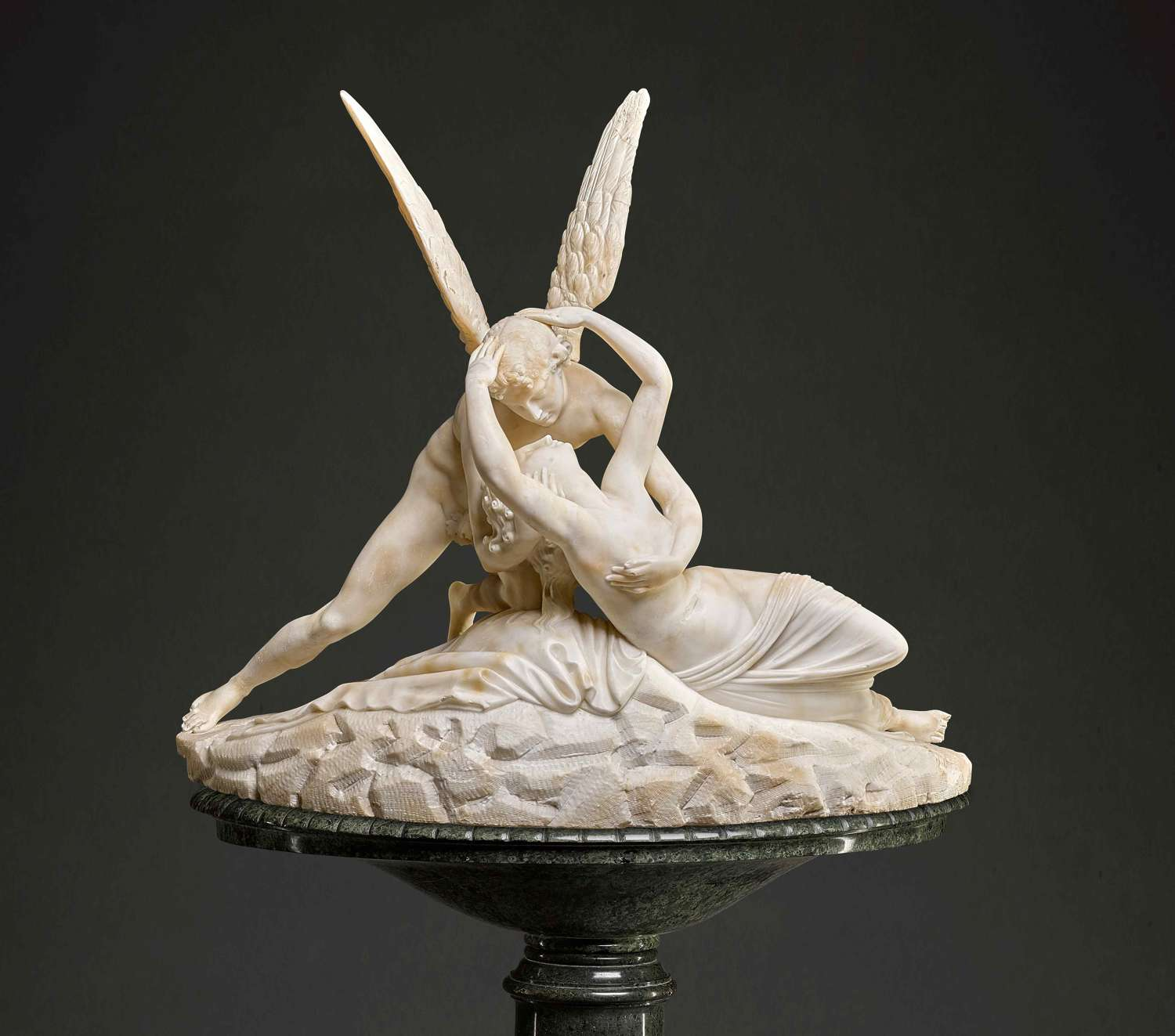 'Psyche revived by a Kiss ', Italian Circa 1900 After Antonio Canova